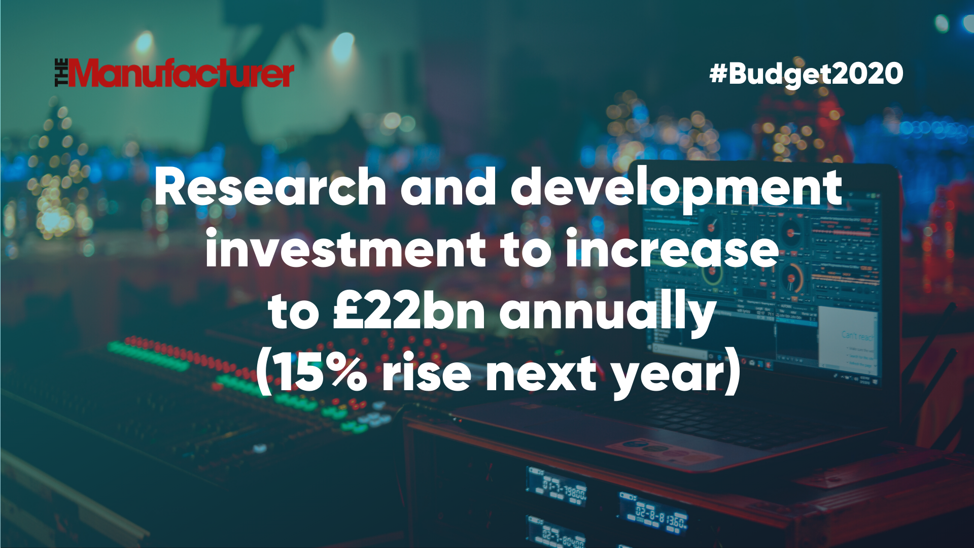 Budget 2020 - R&D Investment