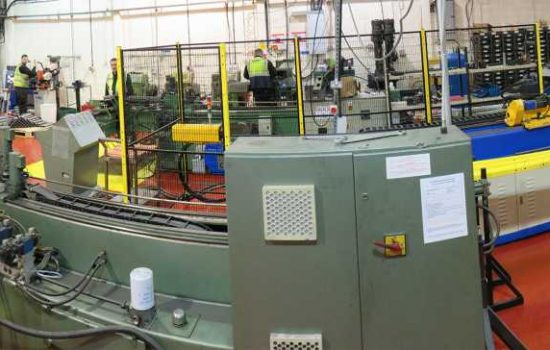 Panoramic Factory - Welding - image courtesy of James Lister and Sons