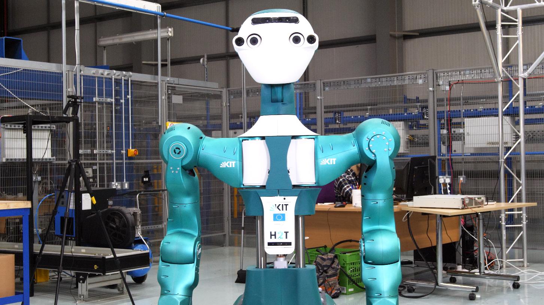 he EU Horizon2020 SecondHands consortium has successfully developed a potentially revolutionary robotic platform, the ARMAR-6 - image 2