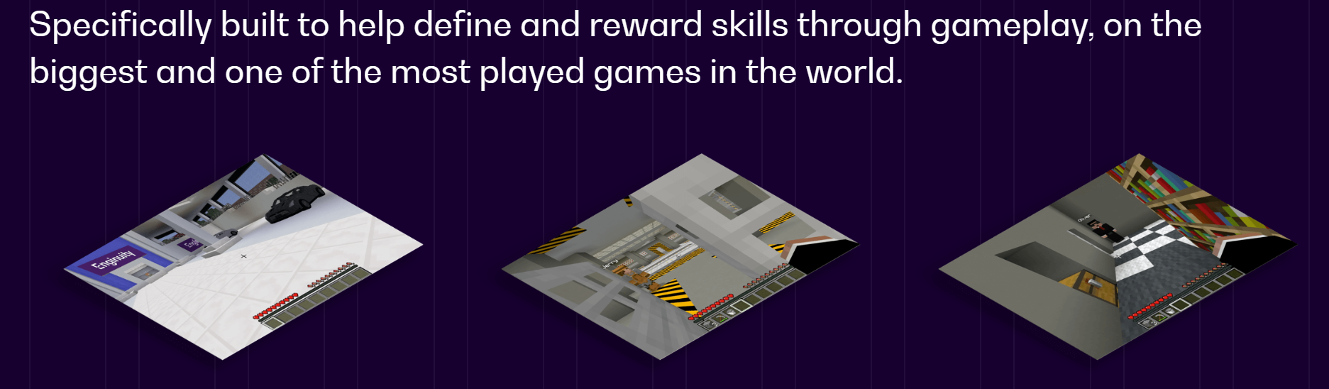 Skills Miner To find the skills for our future, we bring you Skills Miner. A brand new, custom-created world for 2020!
