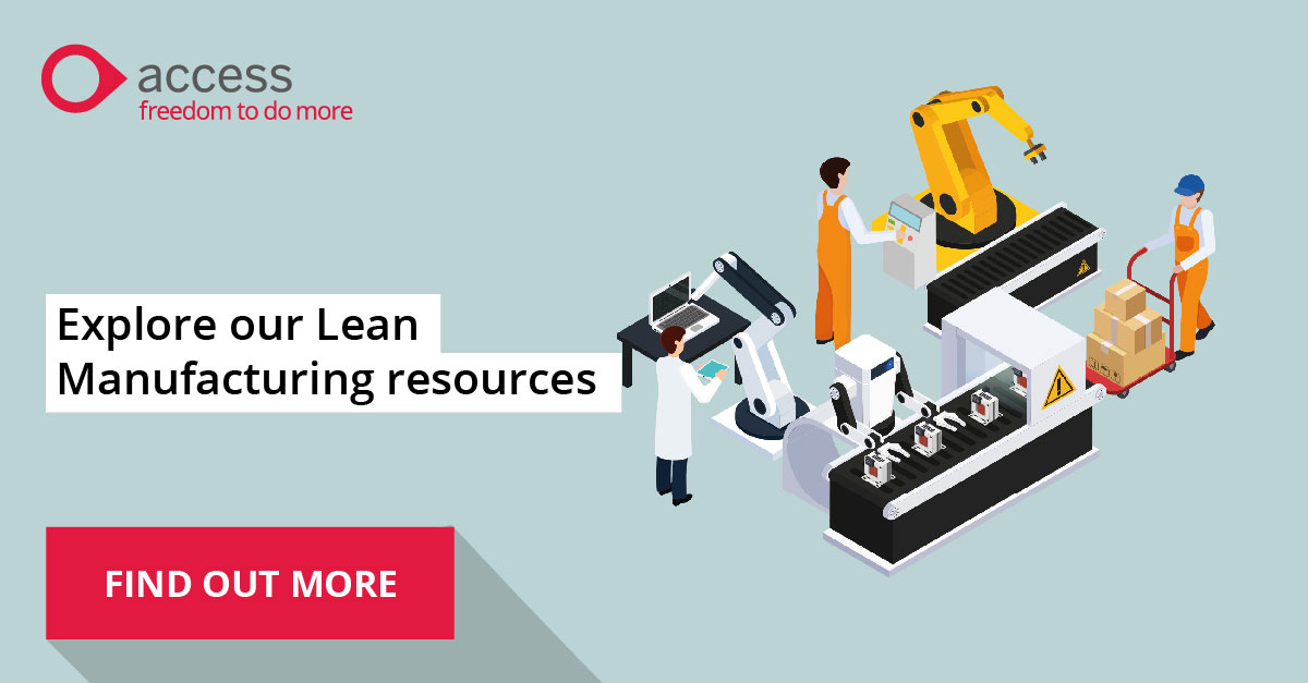 The Access Group - Explore our Lean Manufacturing Resources 3