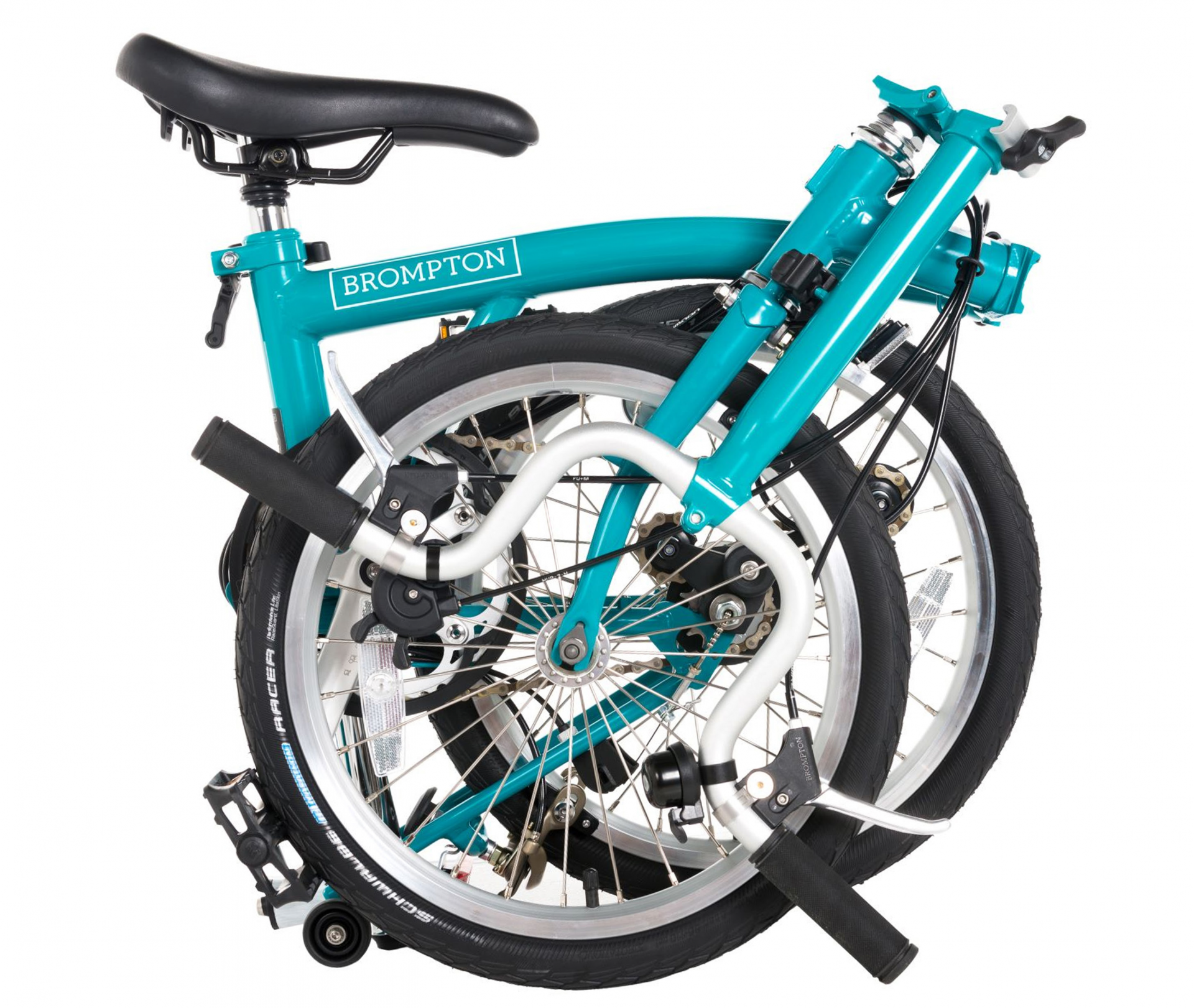 Brompton - award-winning innovative folding-frame design