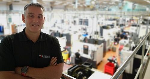 Tim Maddison, managing director, T&R Precision - image courtesy of Made Smarter