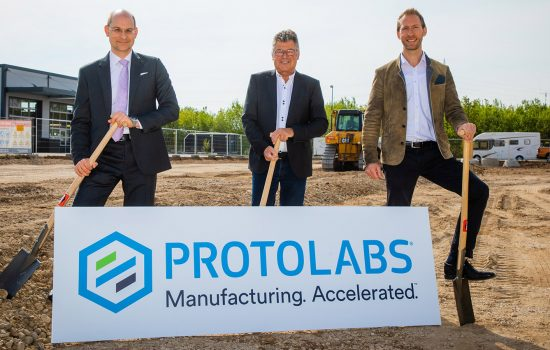 3D Printing Expansion (PR) - image courtesy of Protolabs