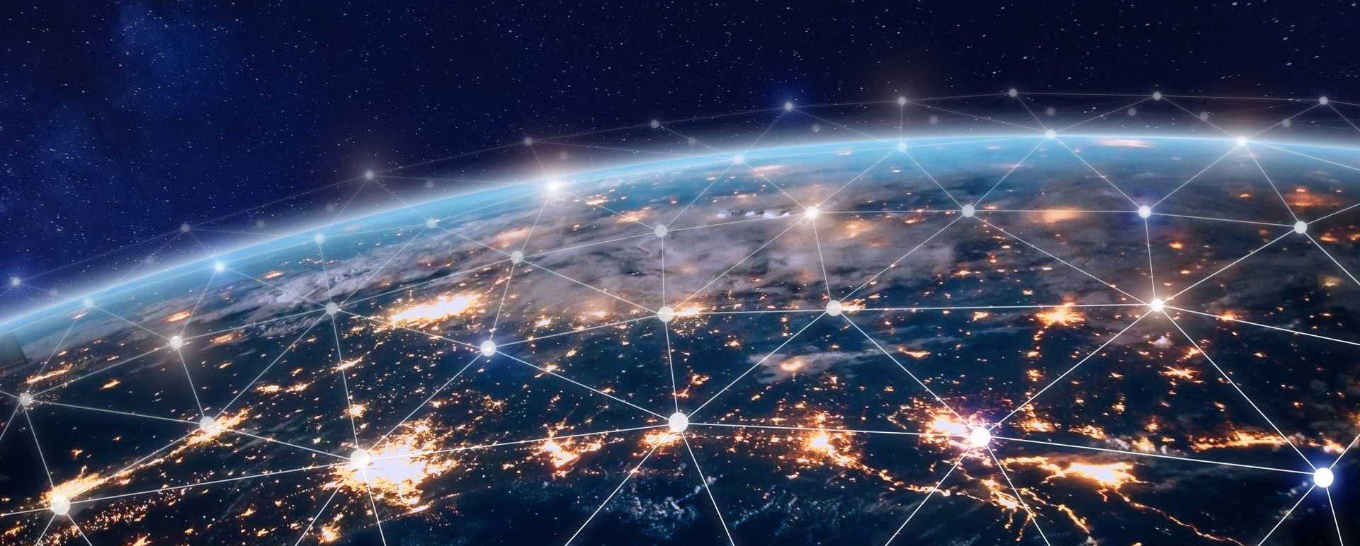 Supply chain logistics world globe network - shutterstock_725917057