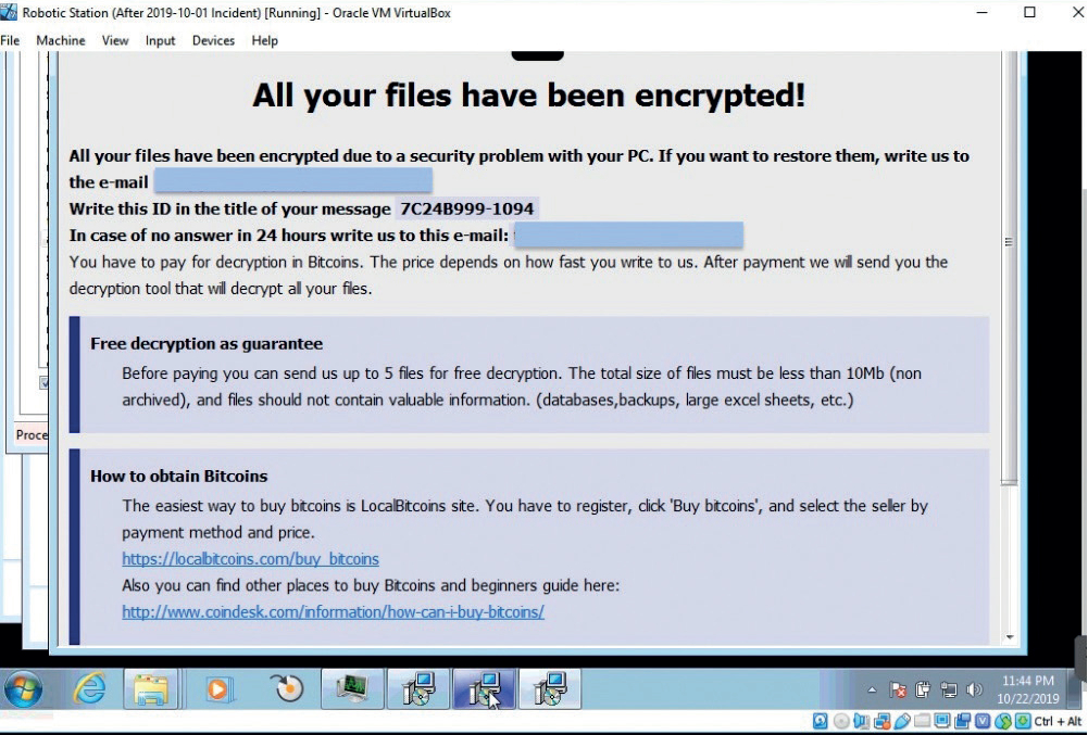 cyberattack ransomware