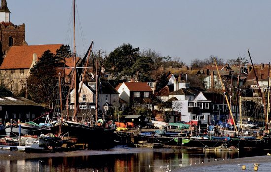 The picturesque town of Maldon.