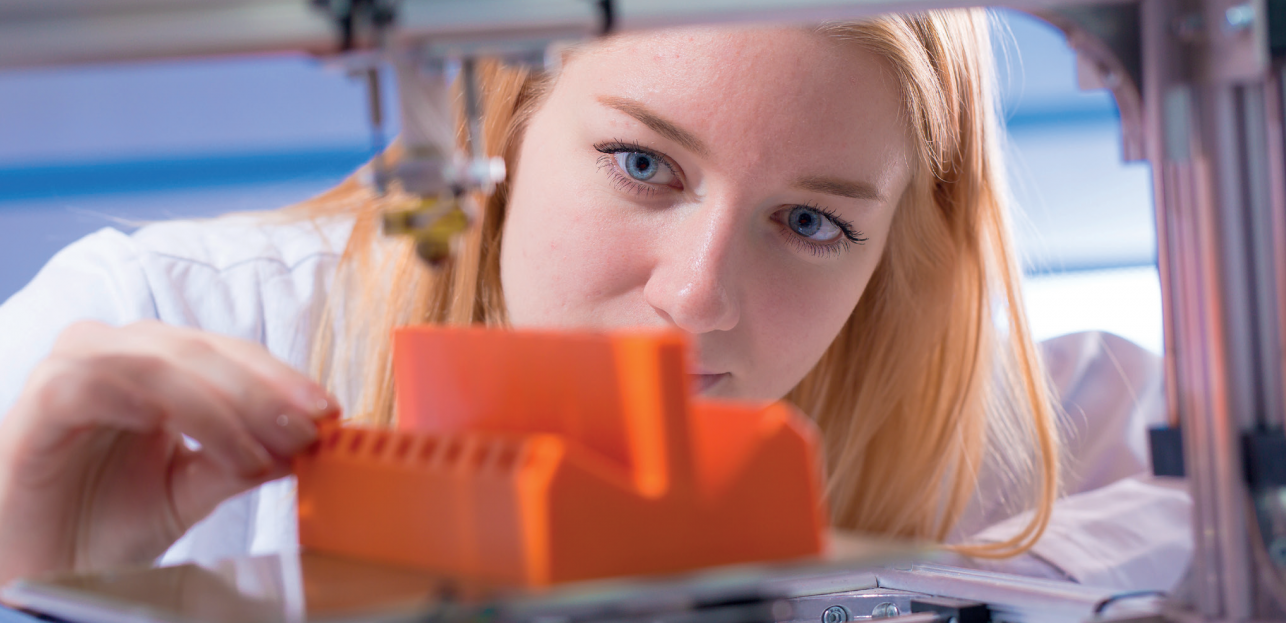 Every home should have one: remote working with a 3D printer. Image: Shutterstock