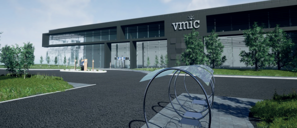 What the Vaccines Manufacturing and Innovation Centre will look like when completed. Image: Innovate UK