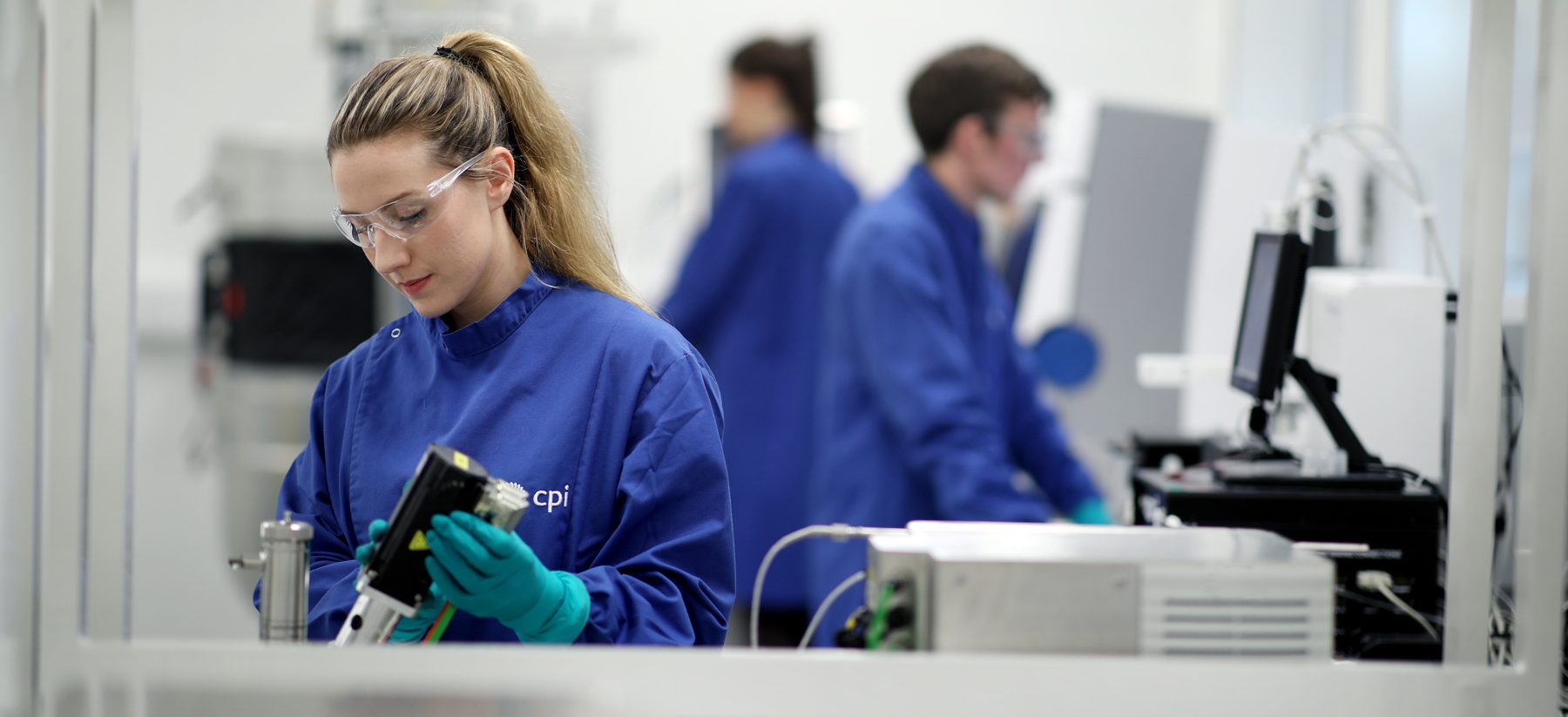 CPI's cutting-edge National Biologics Manufacturing Centre in Darlington carries out bioprocessing projects that aren't currently possible within industry. Image: CPI