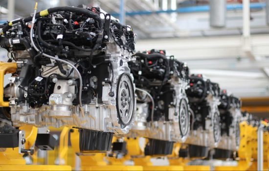 Jaguar Land Rover Engine Manufacturing Centre in Wolverhampton - Ingenium Line