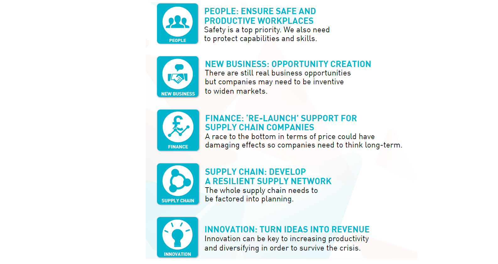 Midlands Aerospace Alliance - Five-point plan to save the UK aerospace supply chain