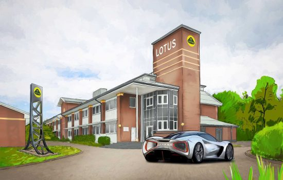 FULL SIZE Artist's Impression of new Lotus advanced technology centre-min