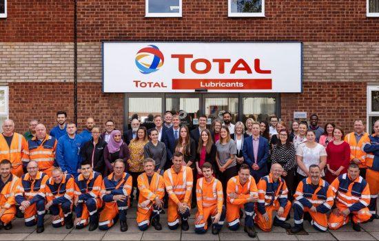 Total Lubricants UK team 2018 Image: Total Lubricants in UK