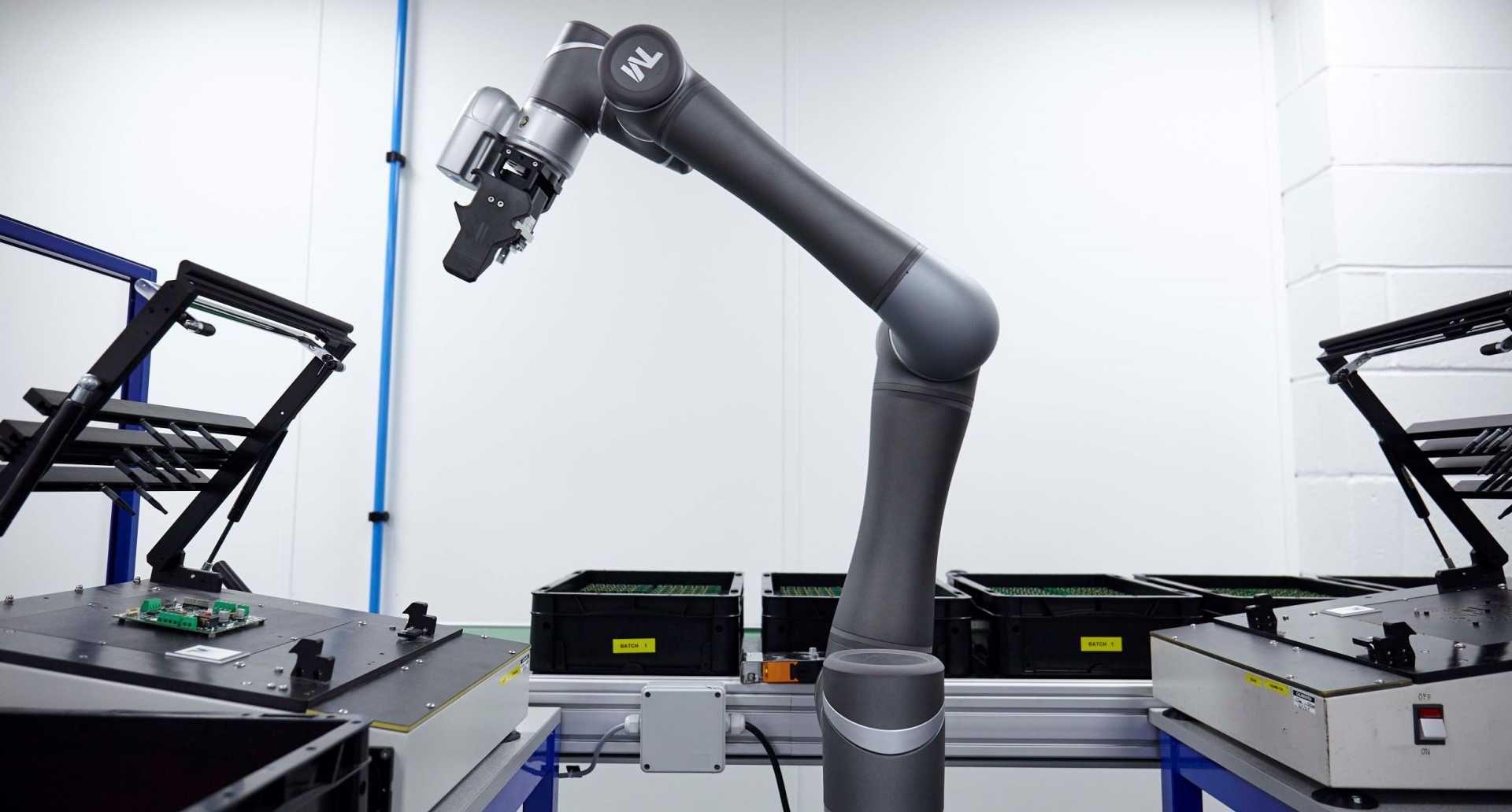 Collaborative robot - Cobots at Hanover Displays