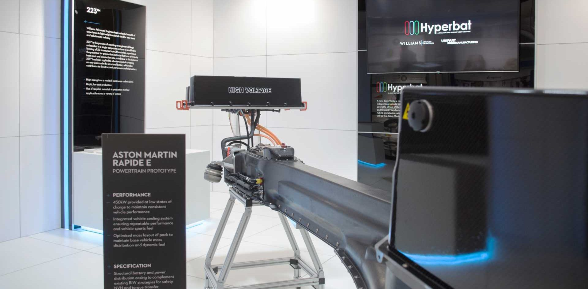 The Hyperbat facility in Coventry has the capability to manufacture batteries for high-performance vehicles to exacting safety standards.