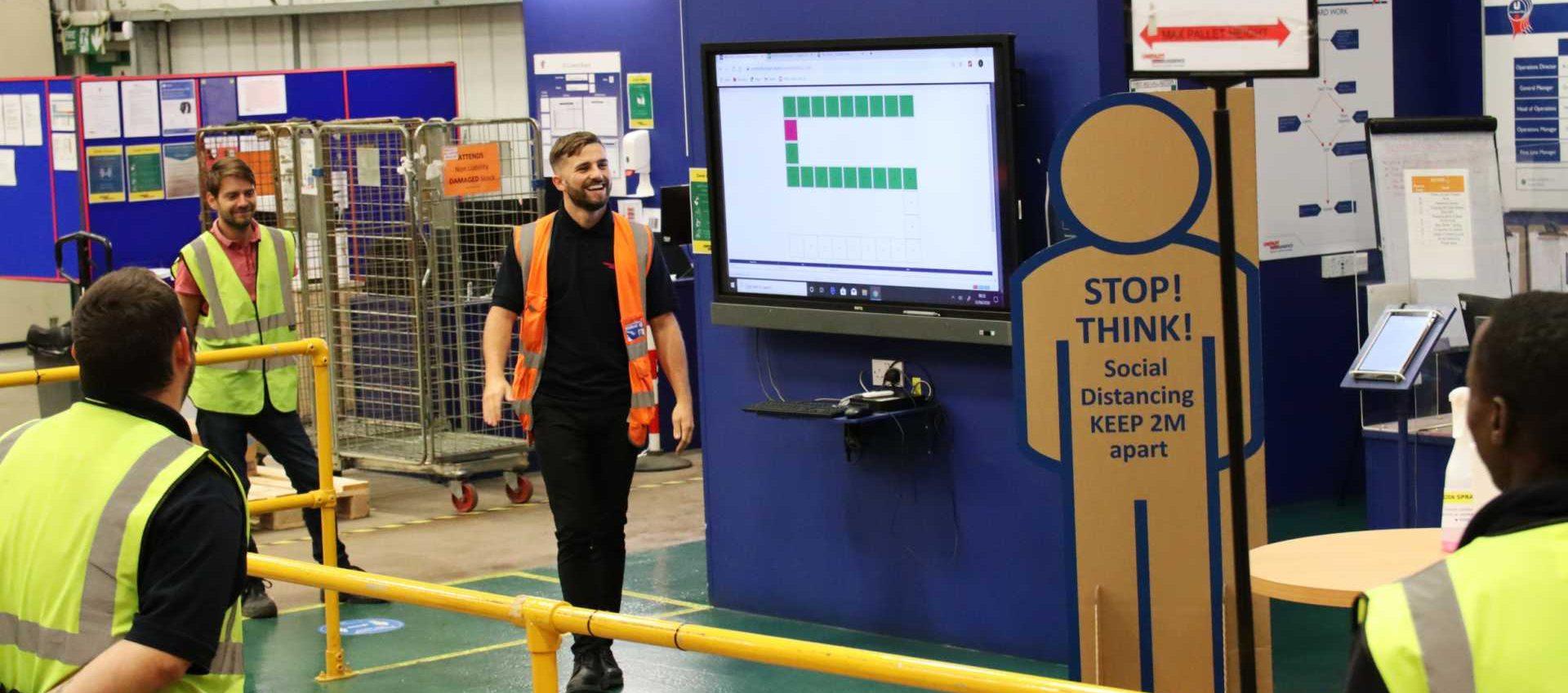A COVID-19 Secure Unipart distribution centre