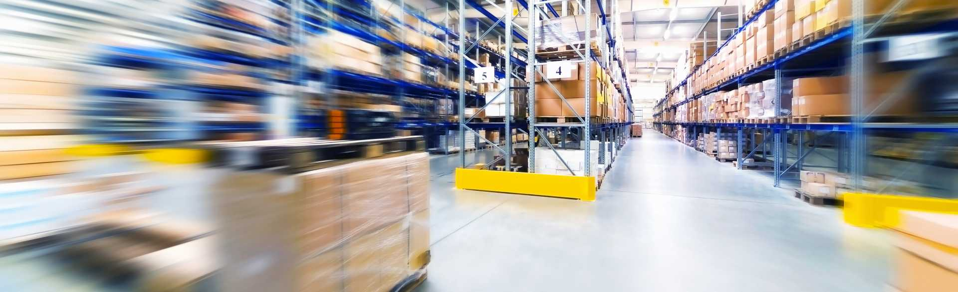 shutterstock warehouse logsitics forklift supply chain
