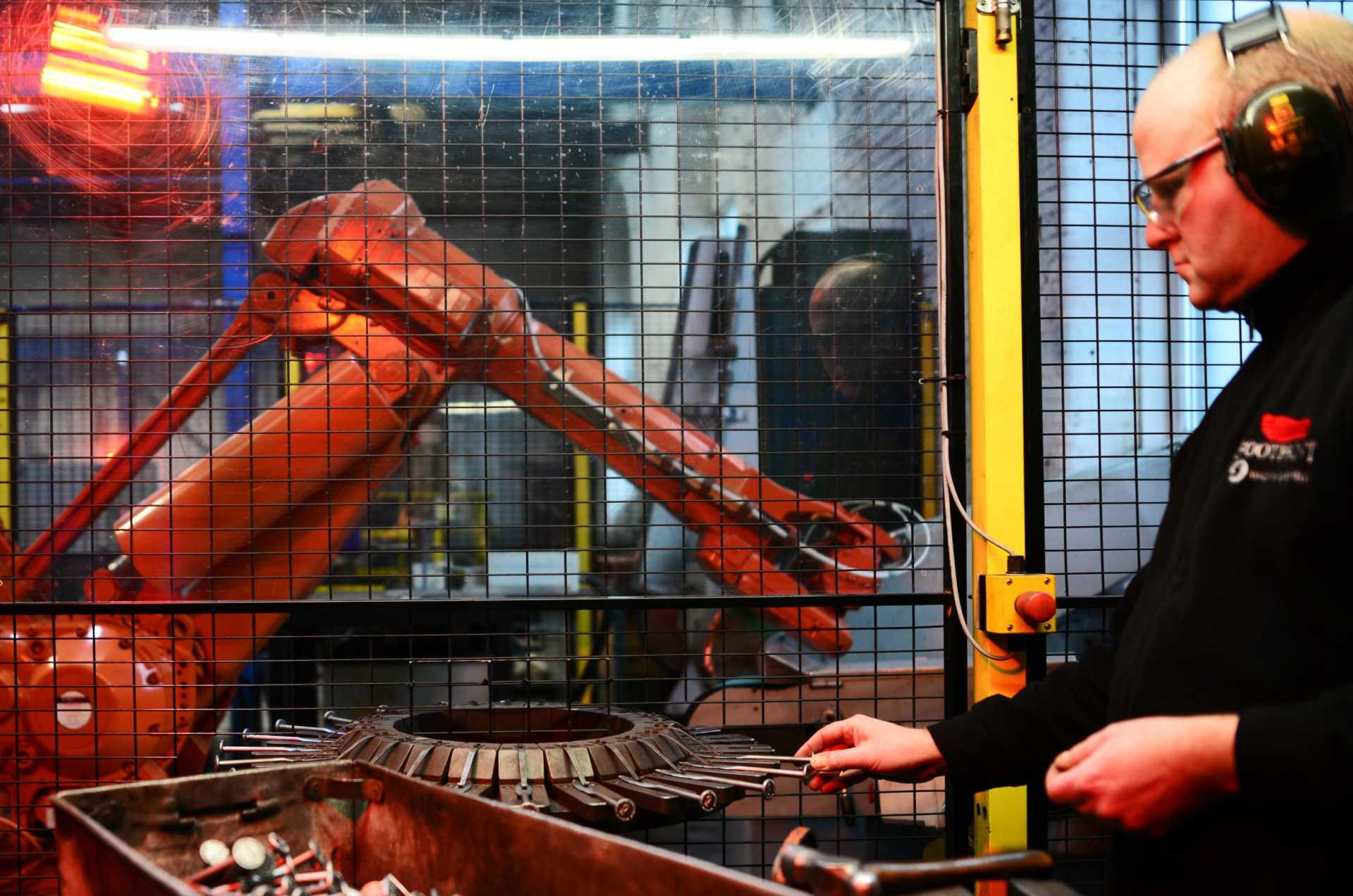 Automation offers huge opportunities for firms to improve productivity levels.