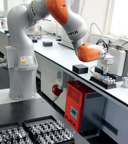 Robot - Revolutionising the way that laboratory R&D is conducted - leveraging the power of advanced robotics, automation and high-performance computing techniques