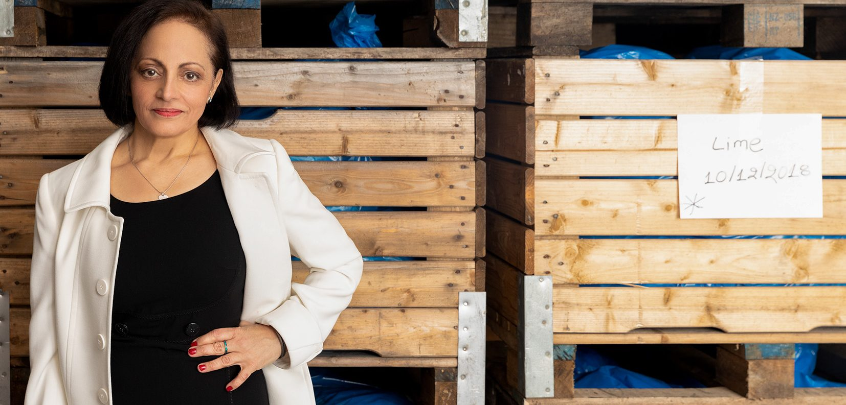 NImisha Raja CEO of Nims Fruit Crips