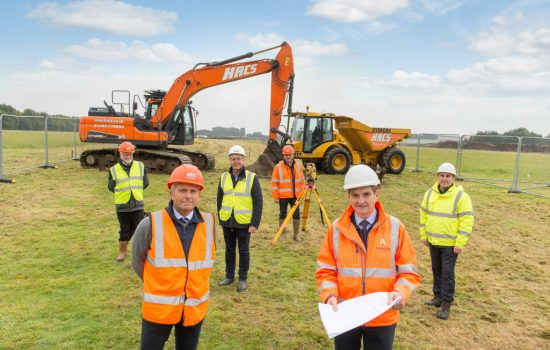 I'Anson Brothers Ltd. begins work on new £20m mill