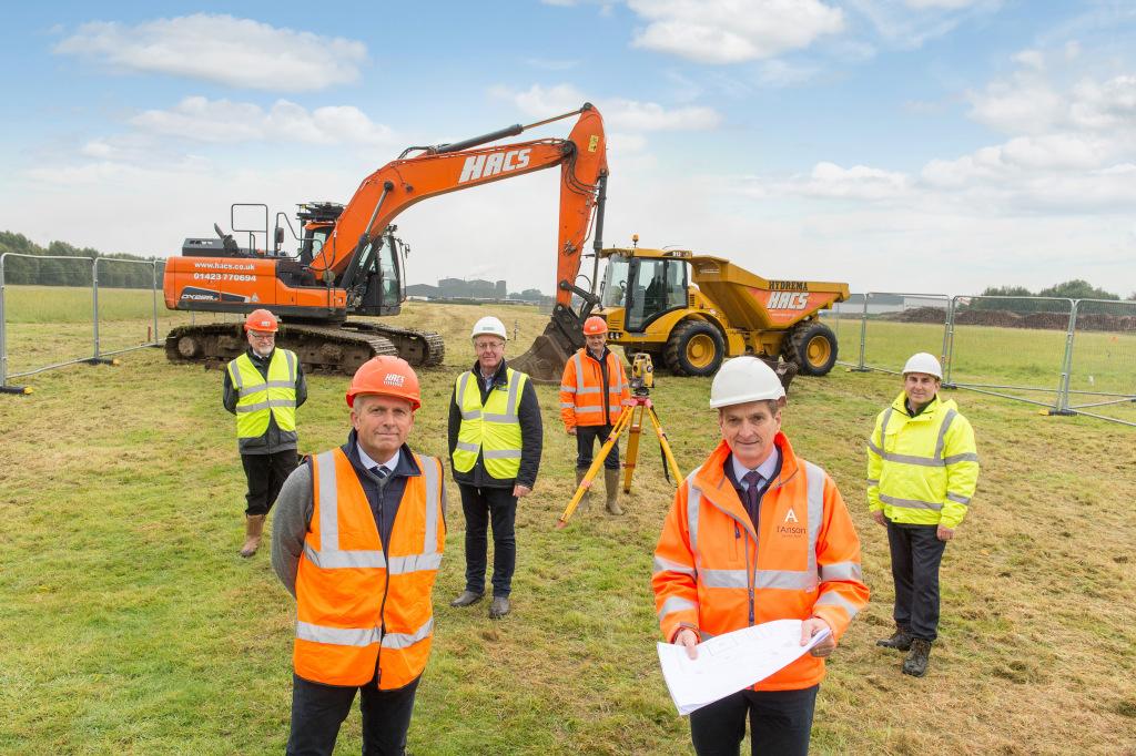 I'Anson Brothers Ltd. begins work on new £20m mill