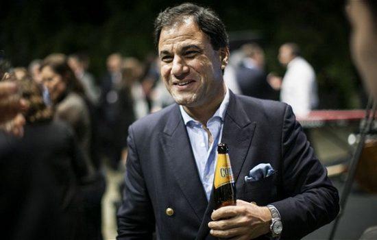 Lord Karan Bilimoria = Cobra beer bottle 2