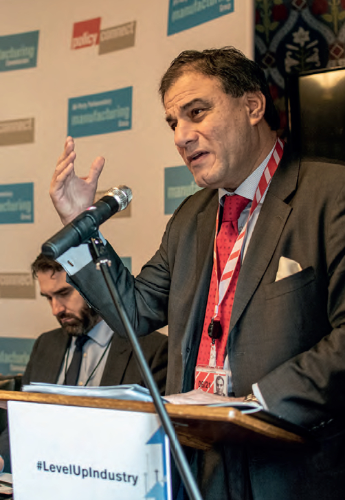 Lord Bilimoria, chair of the Manufacturing Commission