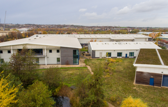 AESSEAL HQ - Mill Close Rotherham - net zero