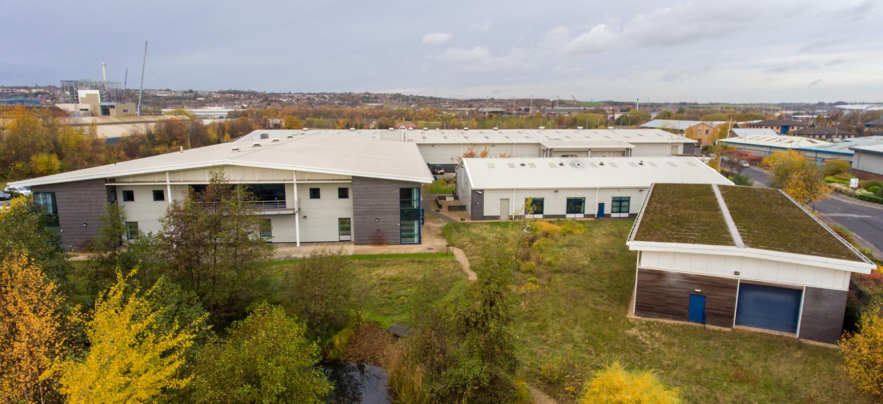 AESSEAL HQ - Mill Close Rotherham - net zero