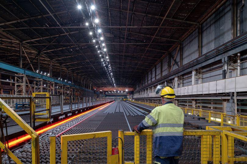 GreBar emerges in LIBERTY Steel UK's Rotherham rolling mill. Image credit: Viktor Mácha