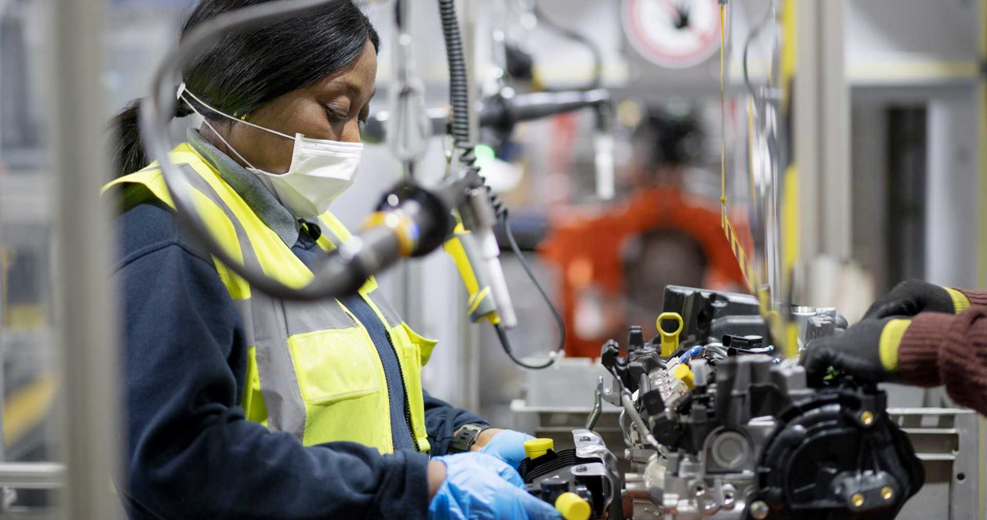 Ford's Dagenham Engine Plant is one of the most advanced, innovative and sustainable factories in the world. Image: Ford of Britain