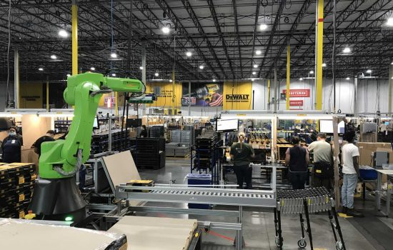 The shop floor at the Stanley Black & Decker tool assembly plant in Fort Mill, South Carolina - image courtesy of SB&D