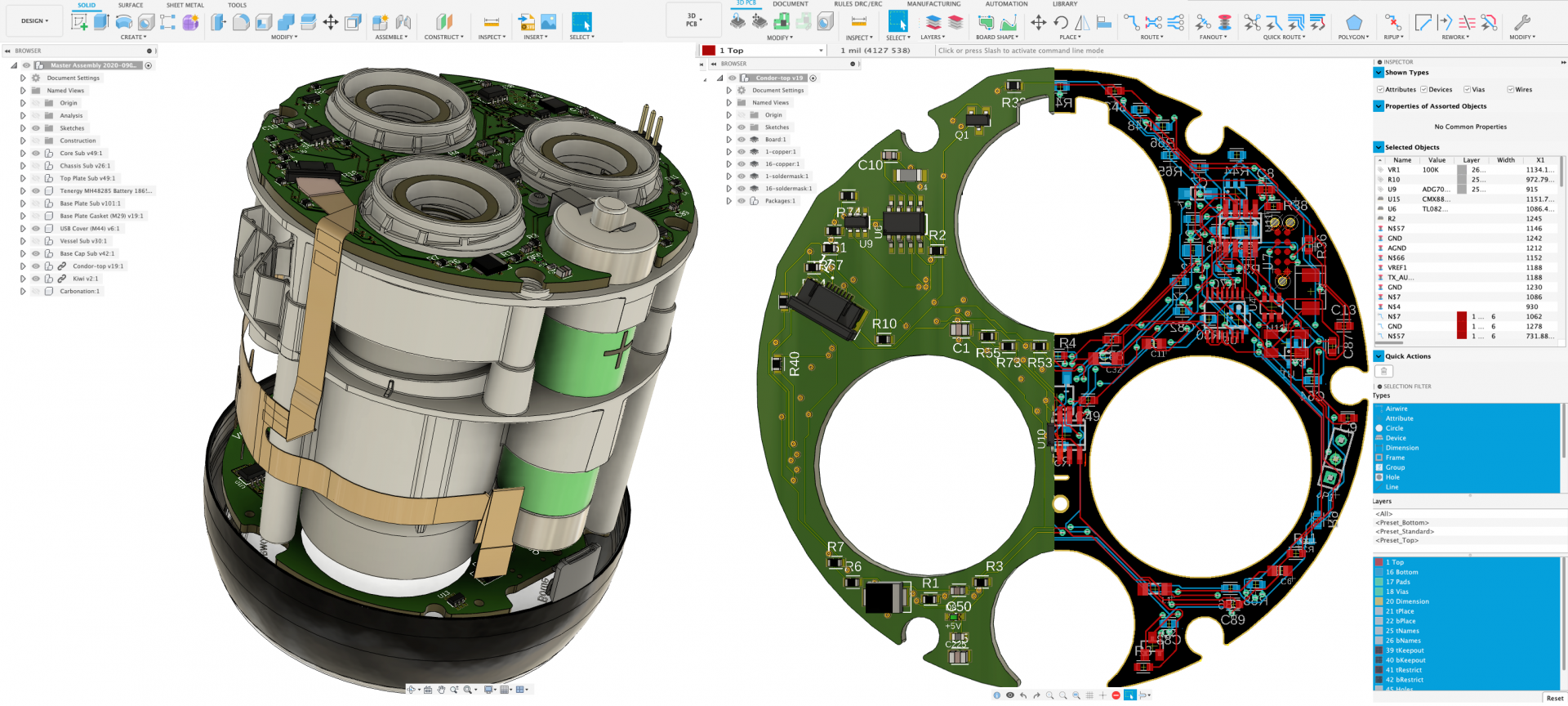 Fusion 360 Design Unification brings ECAD & MCAD into one platform