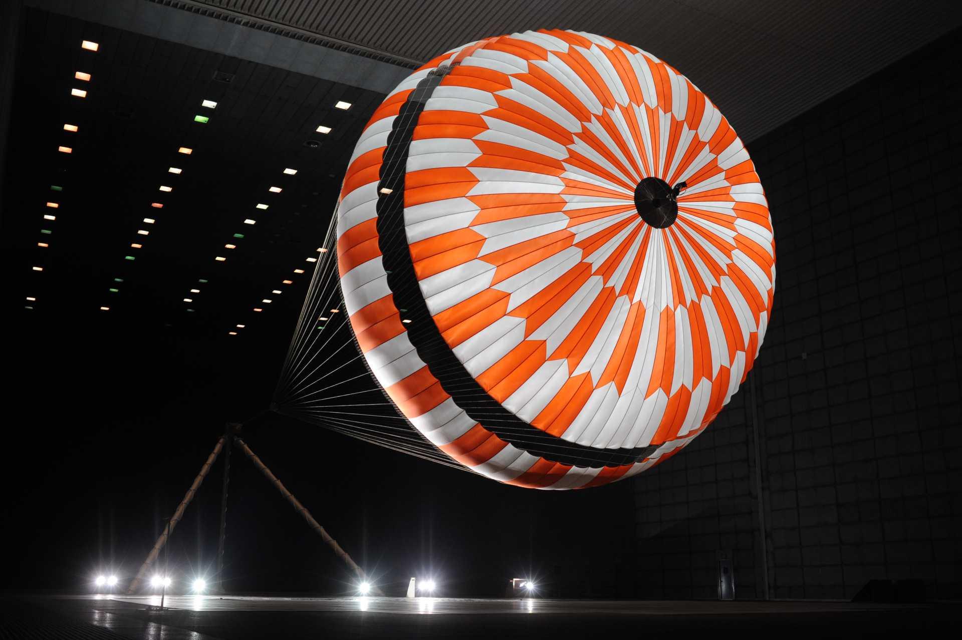 Rapid inflation testing at NASA Ames Facility - Credit NASAJPL-Caltech