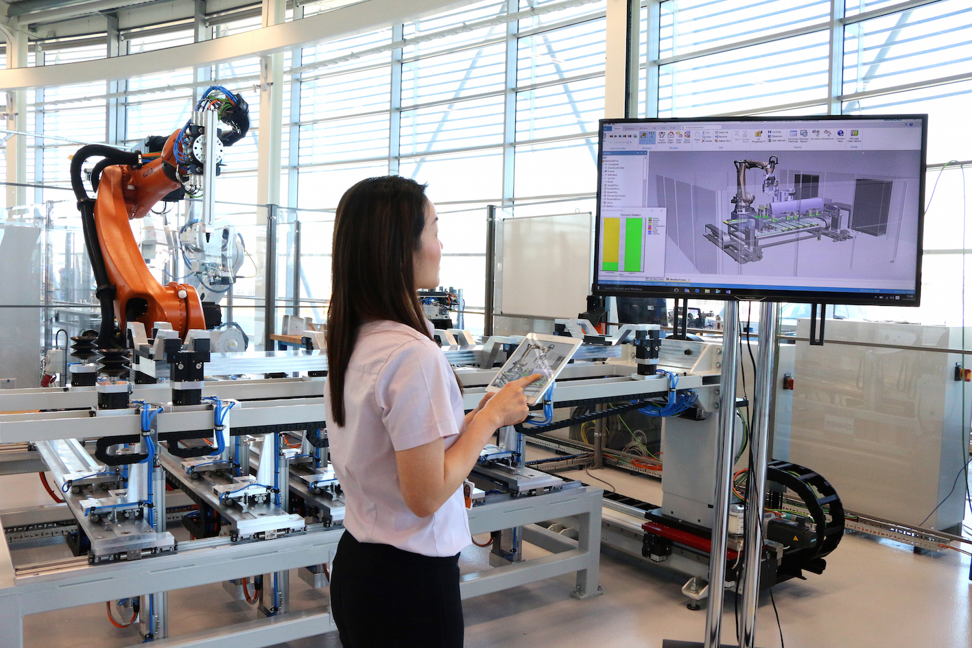 Digital twin being created at the AMRC's Factory 2050