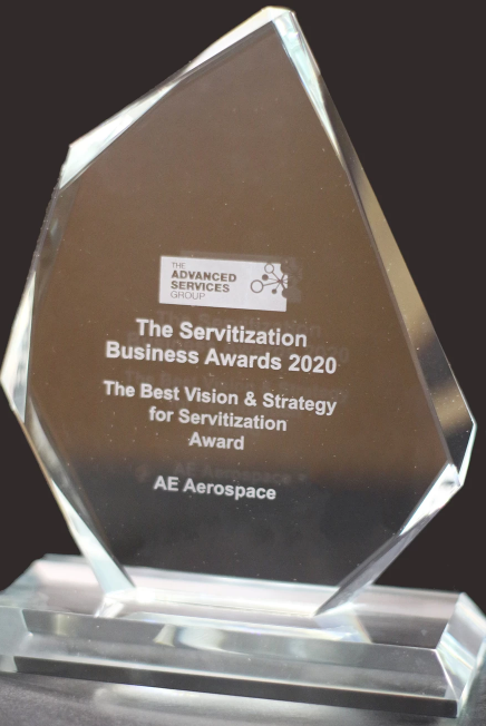 The development of its 'Glass Factory' model saw AE Aerospace win the award for Best Vision & Strategy for Servitization from the Advanced Services Group