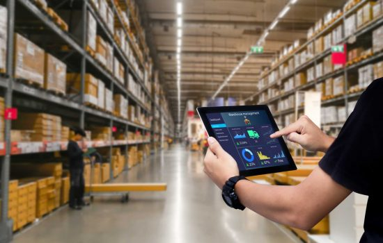 Technology is playing an important role in helping UK organisations improve supply chain efficiency - image courtesy of APS