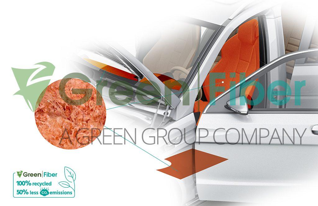 Green Fiber has transformed over 2 billion PET bottles per year into fiber products - image courtesy of Green Fiber