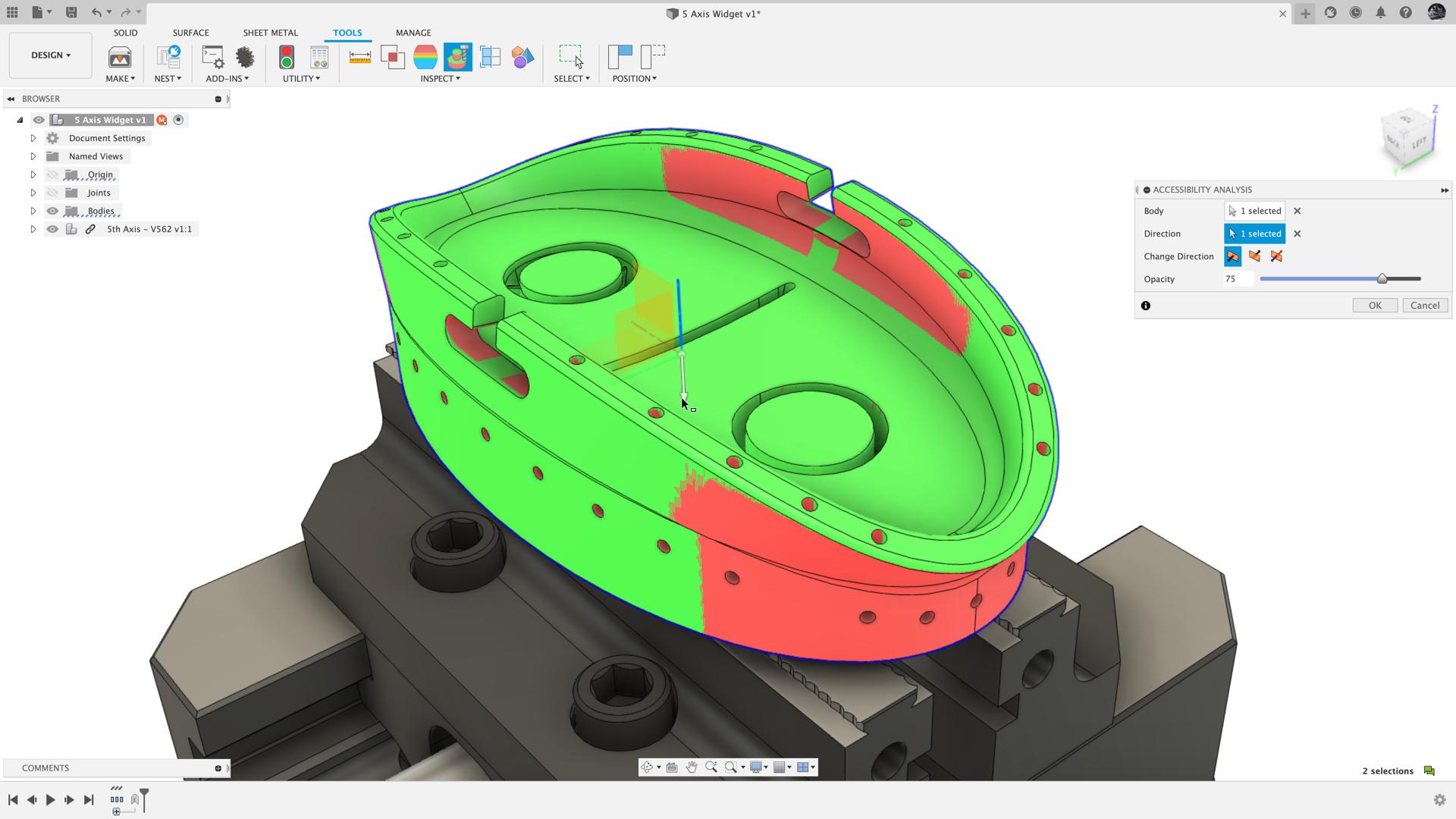 Phân tích trợ năng Fusion 360_Autodesk