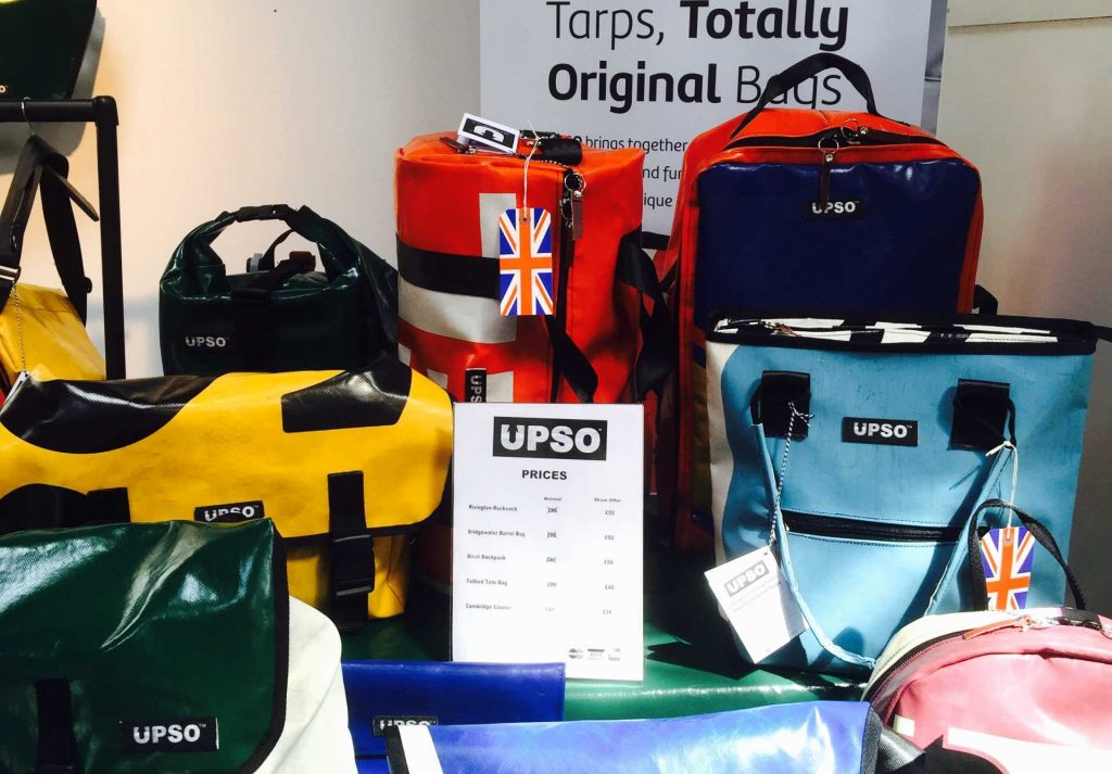 UPSO bags from Carradice of Nelson Made-in-Britain