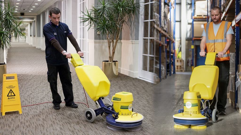 Truvox International brings the manufacturing of the Cimex carpet and hard-floor cleaning range back to the UK. Image courtesy of Truvox International