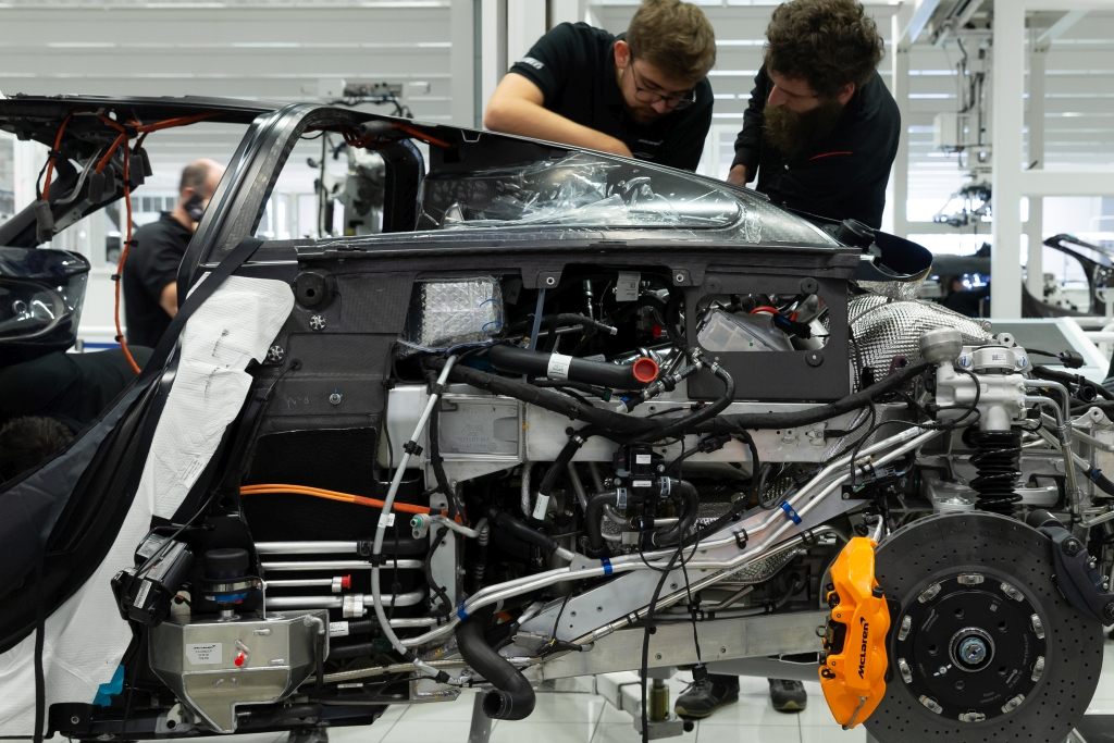 A key focus for every McLaren technician is how best to optimise performance, reliability and durability. Image courtesy of McLaren Applied.
