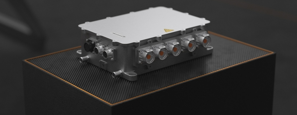 The MPU-200 Silicon Carbide Inverter acts as the control junction between the battery and the motor. Image courtesy of McLaren Applied.