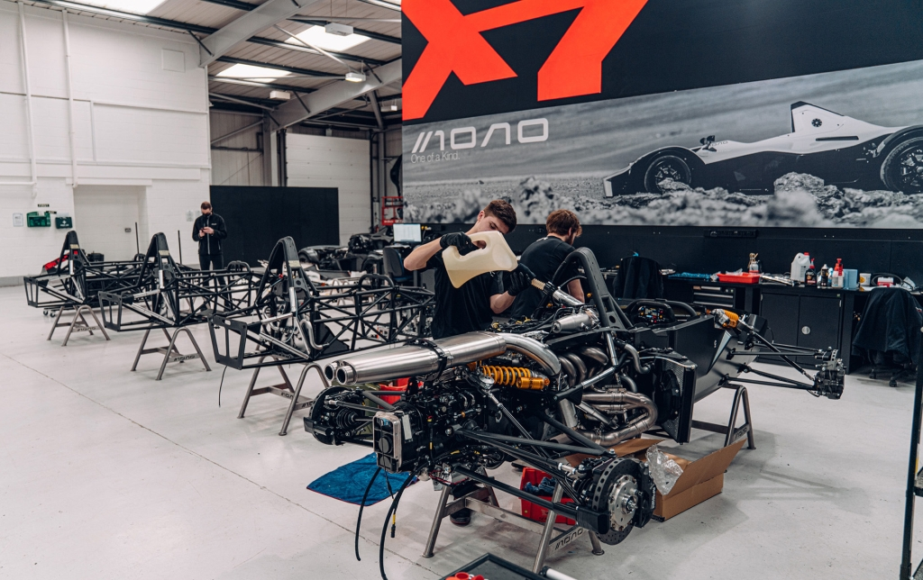 Made Smarter backs 200th manufacturing project. Briggs Automotive Company (BAC), a supercar manufacturer based in Liverpool.