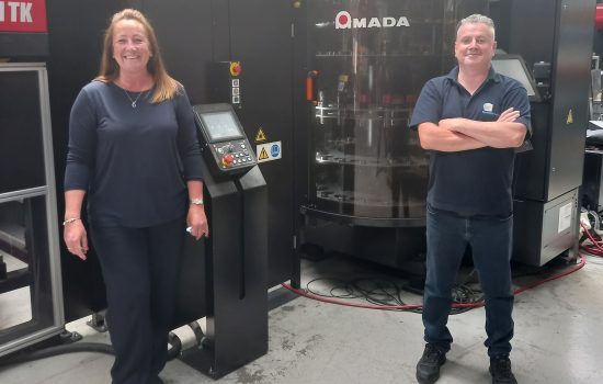 New to YLF: Head of Operations Cheryl Reidy and CAD Engineer Daniel Varley. Image courtesy of YLF