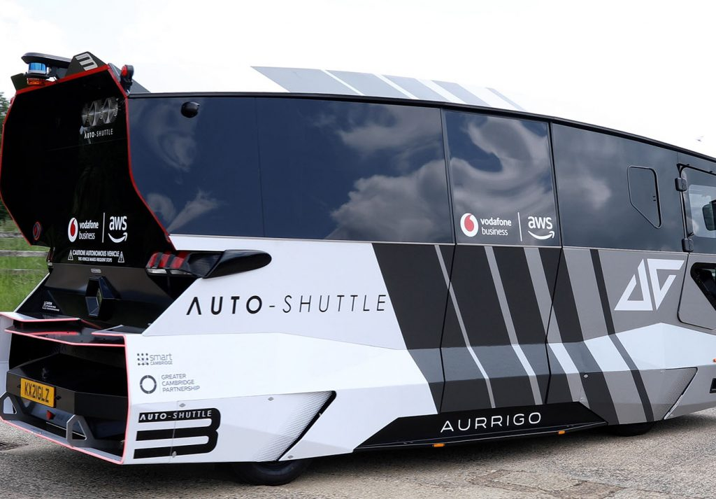 autonomous shuttle