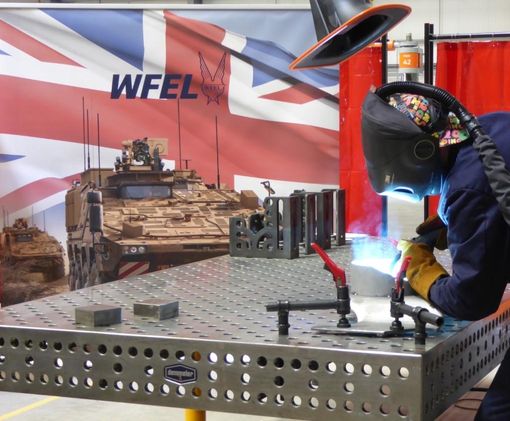 WFEL Begins Production on UK Boxer MIV armoured vehicles. Image courtesy of WFEL.