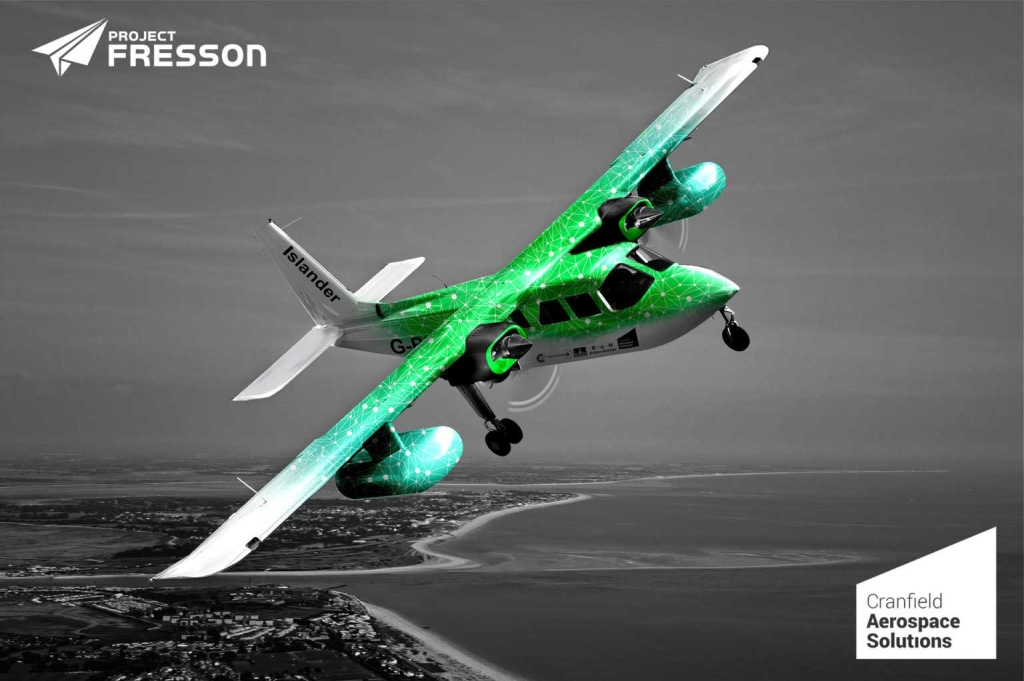Project Fresson aims to deliver the world's first truly green passenger aircraft using hydrogen fuel cell technology. Image courtesy of CAeS.
